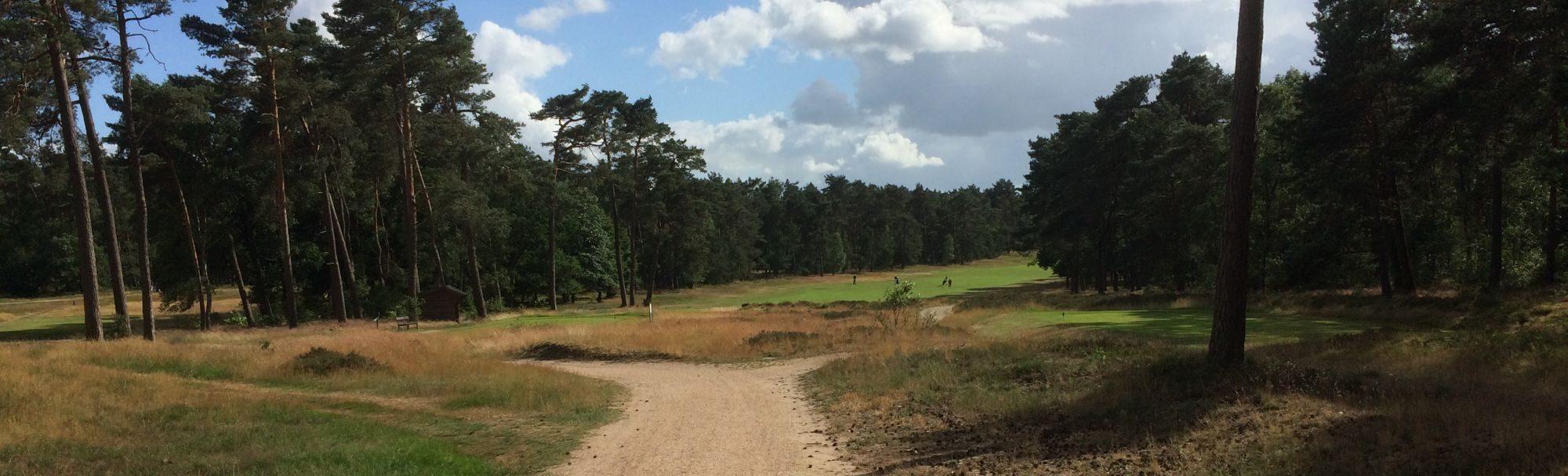 De golfbaan van de Rosendaelsche Golfclub
