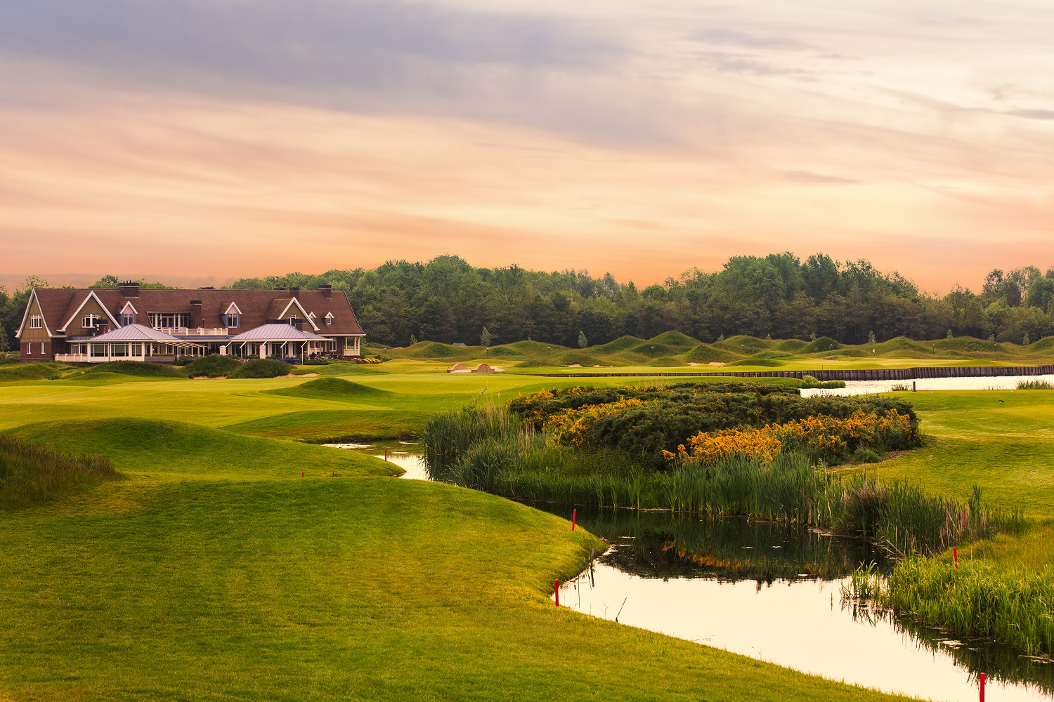 The Dutch golfbaan Spijk