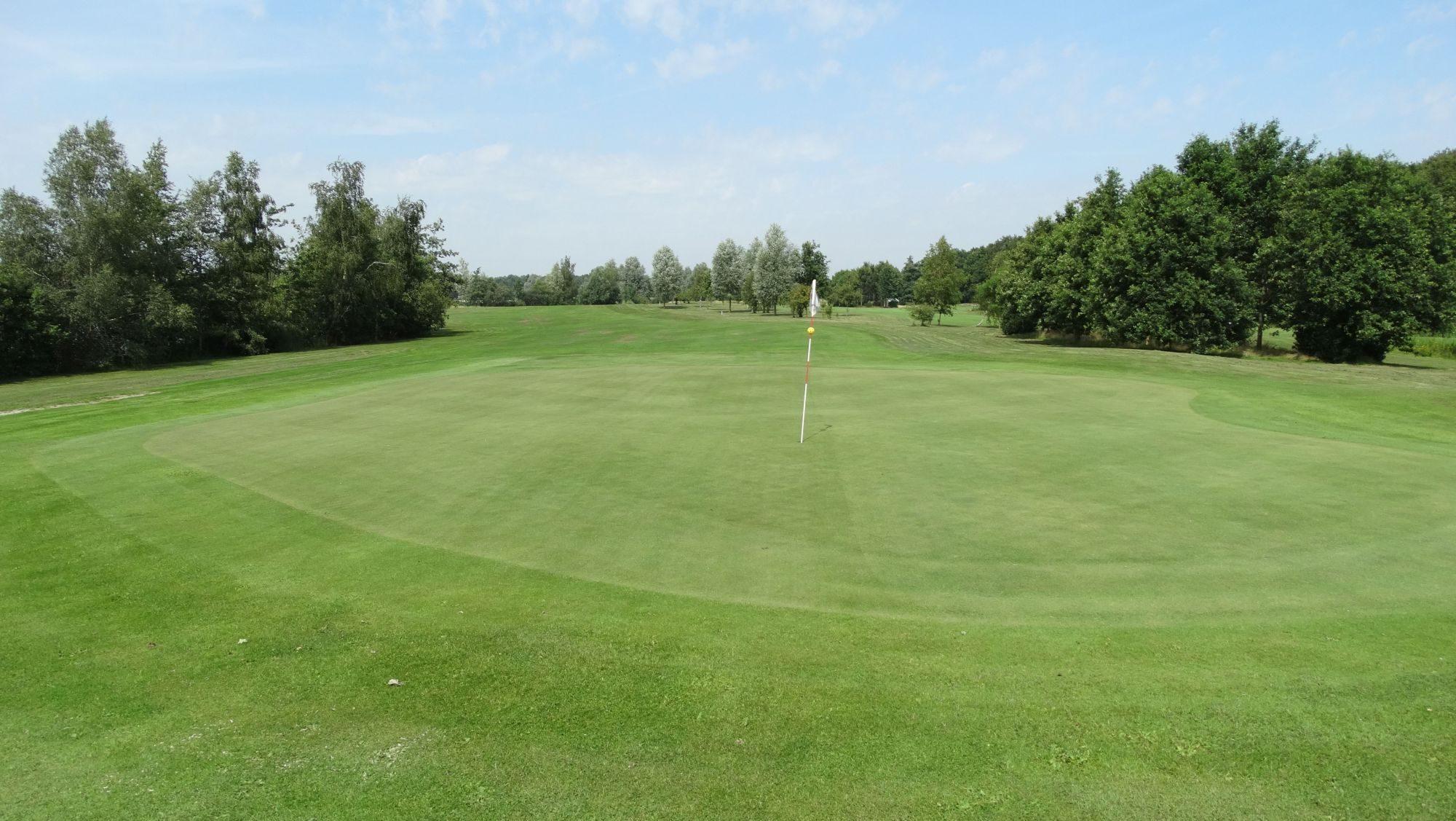 De golfbaan van Golfclub Heidemeer